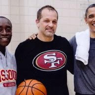 Hooping with the Pres 2014